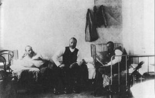 Fyodor Dostoevsky in prison