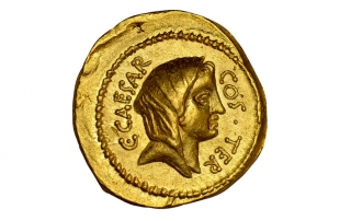 Give unto Caesar coin